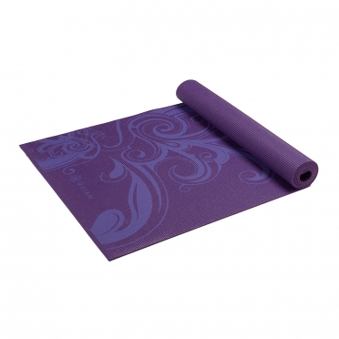 Gaiam Deep plum Surf yogamat (3mm)