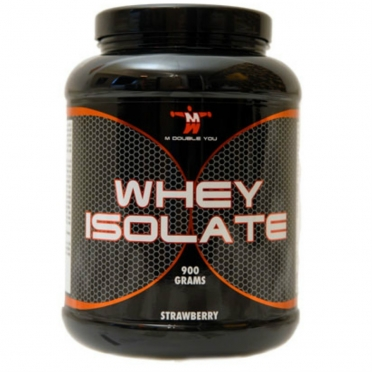 M Double You Whey Isolate 900 gram vanille