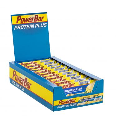 Powerbar Protein plus 30% bar vanille kokos 15 x 55 gram
