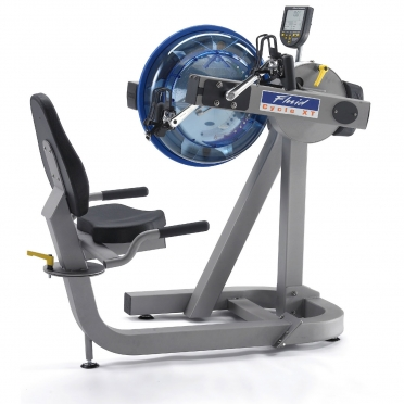 First Degree roeitrainer Fluid Rower E-720 XT showroom