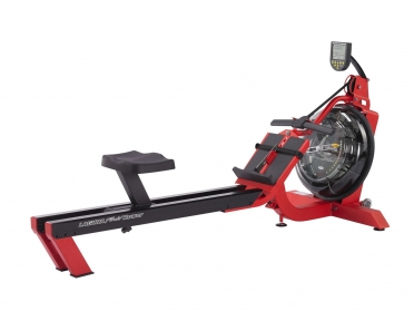 First Degree roeitrainer Fluid Rower S6 Laguna Red