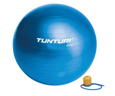 Tunturi Gymbal 65 cm blauw