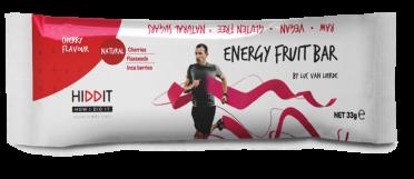 Hiddit Energy fruit reep kers 12x33g