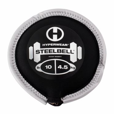 Hyperwear SteelBell 4,5 kg zilver