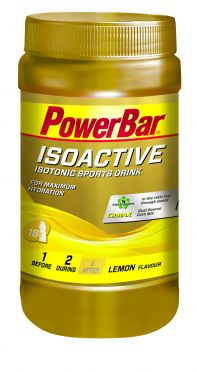 Powerbar Isoactive 600 gram lemon