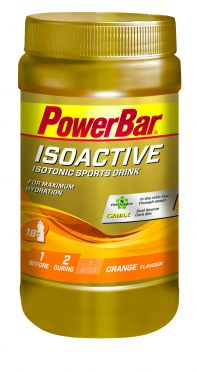 Powerbar Isoactive 600 gram orange
