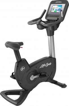 LifeFitness hometrainer Upright Bike Platinum Club Series Discover SI WIFI PCSCI