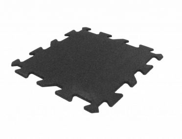 Lifemaxx Puzzelmat 10mm ECO rubber tegel (50 x 50 cm)