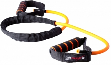 Lifemaxx Training tube zwaar LMX 1170 orange level 3