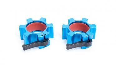 Muscle Power Olympische Alu Collar Set Blauw MP843