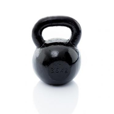 Muscle Power Gietijzeren Kettlebell 36 KG MP1300