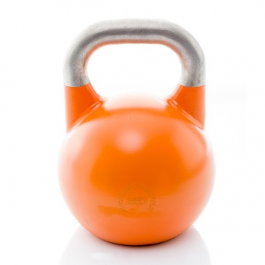 Muscle Power Competition Kettlebell Oranje 28 KG MP1302