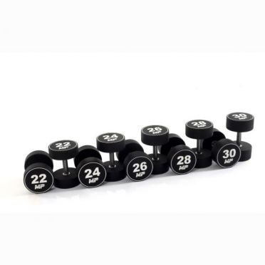 Muscle Power dumbbellset urethaan 22 - 30 kg
