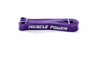 Muscle Power Medium Power Band MP1401-Paars