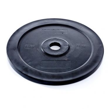Muscle Power Technique Plate 2,5 KG  50 mm zwart MP801