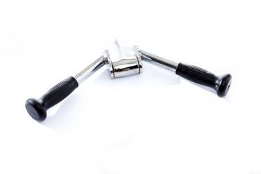 Muscle Power Tricepsgreep W-vorm met Rubber Handvaten MP755