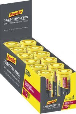 Powerbar Electrolyte tabs 12 x 10 tabletten framboos granaatappel
