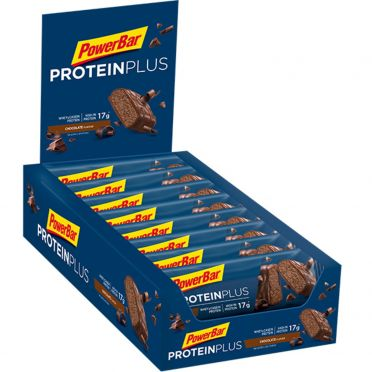 Powerbar Protein plus 30% bar chocolade 15 x 55 gram