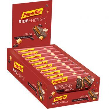 Powerbar Ride energy bar chocolade caramel 18 x 55 gram