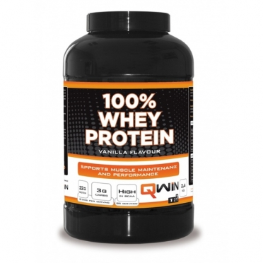 QWIN 100% Whey Protein Chocolade 2400 gram