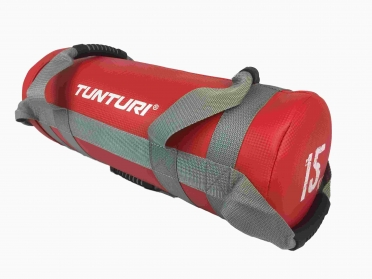 Tunturi Power Bag 15 kilogram Red 14TUSCL363