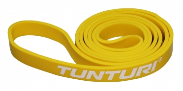 Tunturi Power Band Light Yellow 2,2 CM 14TUSCF028