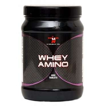 M Double You Whey Amino 400 tabs