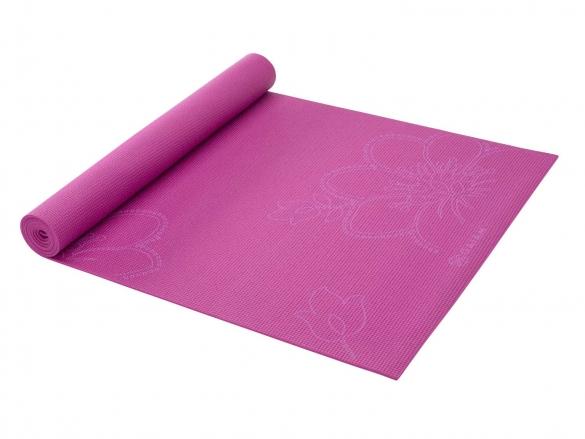 Gaiam Bloom print yogamat - fuchsia (3mm)  G05-54073