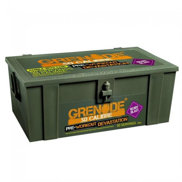 Grenade 50 Calibre Pre Workout devastator 50 porties  GRENADE50CALIBRE