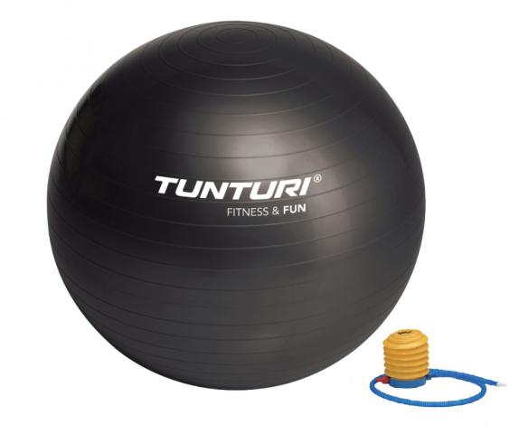 Tunturi Gymbal 65 cm zwart  14TUSFU169