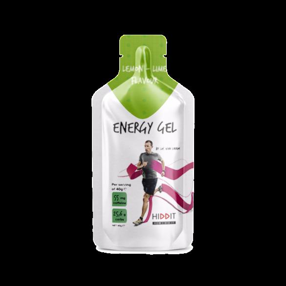 Hiddit Energy gel box citroen - limoen 10x3 (40g)  HIDENGELELI