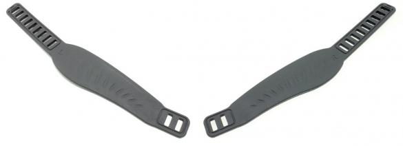 Life Fitness Set Pedaalbandjes voor hometrainer 95ci  0K63-01238-0205-6