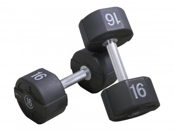 Lifemaxx PU dumbbellset 2x5kg LMX72  LMX72_2x5KG