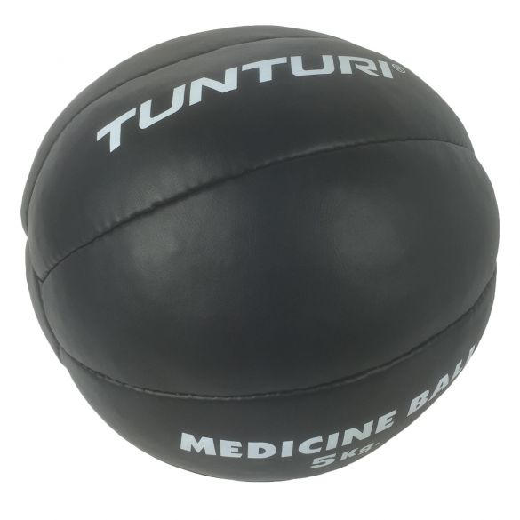 Tunturi Medicine ball Kunstleer 5 kg zwart  14TUSBO104