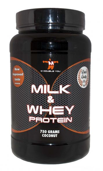 M Double You milk & whey protein kokos 750 gram  MDYM&WCOC750
