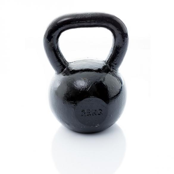 Muscle Power Gietijzeren Kettlebell 28 KG MP1300  MP1300-28