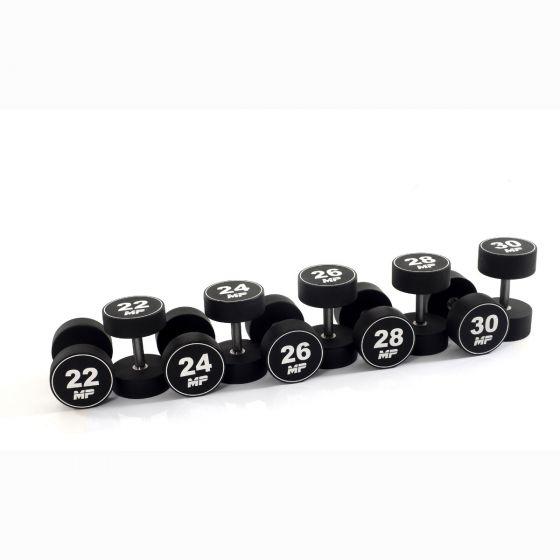Muscle Power dumbbellset urethaan 22 - 30 kg  FMP51D4B/22-30KG