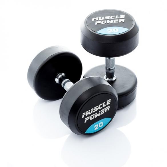 Muscle Power Ronde Dumbbellset 20 KG MP914  MP914-20KGSET
