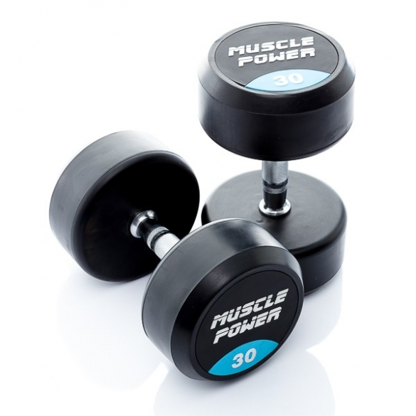 Muscle Power Ronde Dumbbellset 36 KG MP914  MP914-36KGSET