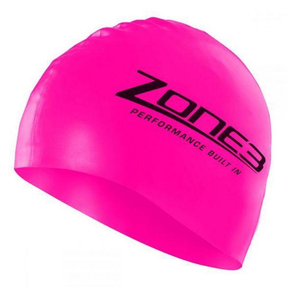 Zone3 Silicone swim cap roze  SA18SCAP114