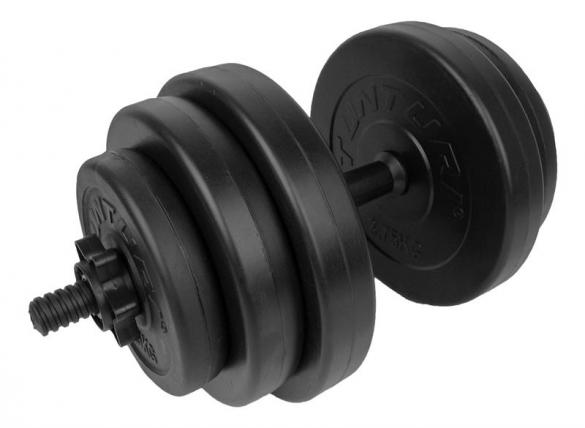 Tunturi Vinyl Dumbbellset 15kg 14TUSCL354  14TUSCL354